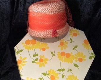 Vintage womans hat - 1950s