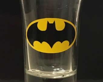 Batman Logo Shot Glass