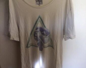 Thrills white t-shirt, size medium