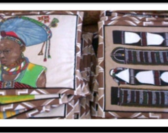 Africana Table placemat