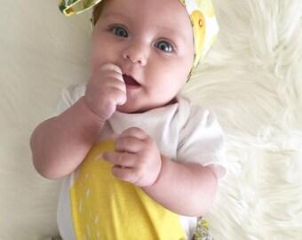 Lemon Lime Headwrap