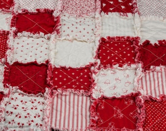 Holiday Baby Quilt, Baby Blanket, Stroller Quilt, Receiving Blanket