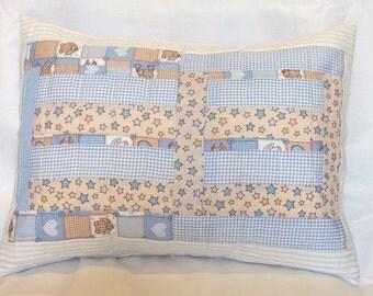 Baby boy nursery pillow