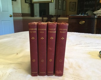 Collection if works of Washington Irving.