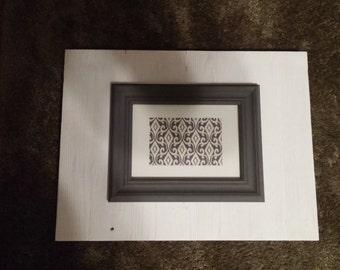 White/Grey Frame board - #64