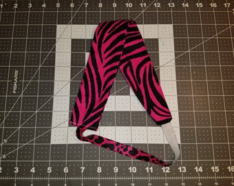 Headband - Pink Zebra Print