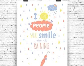 SMILE No2 art print art print