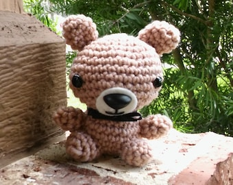 Crochet Amigurumi Brown Bear