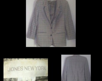 Vtg wool jones new york blazer