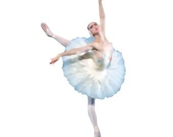 Ballerina #3 - Ballet Art Print Series