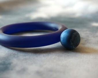 Neptune Resin Bangle