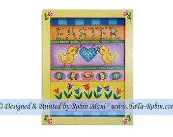324 Easter Sampler I Decorative Painting Pattern