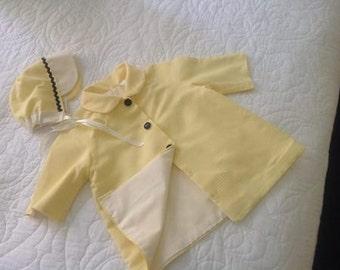 Coat and Bonnet