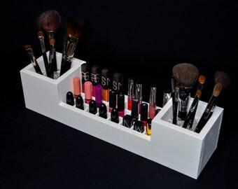 Makeup Organizer - Brush and Lip Organizer - Vanity Organizer - Lipstick Organizer - Makeup Brush Organizer - Vanity Organizer