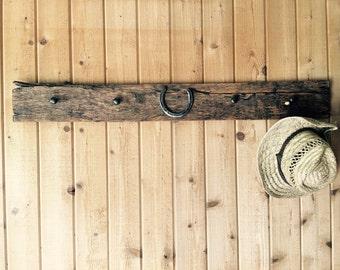 Coat Rack- barnwood