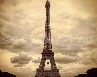 Eiffel & Clouds