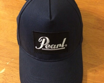 Pearl Dad Hat navy blue