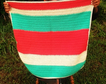 Colorful Crochet Baby Blanket