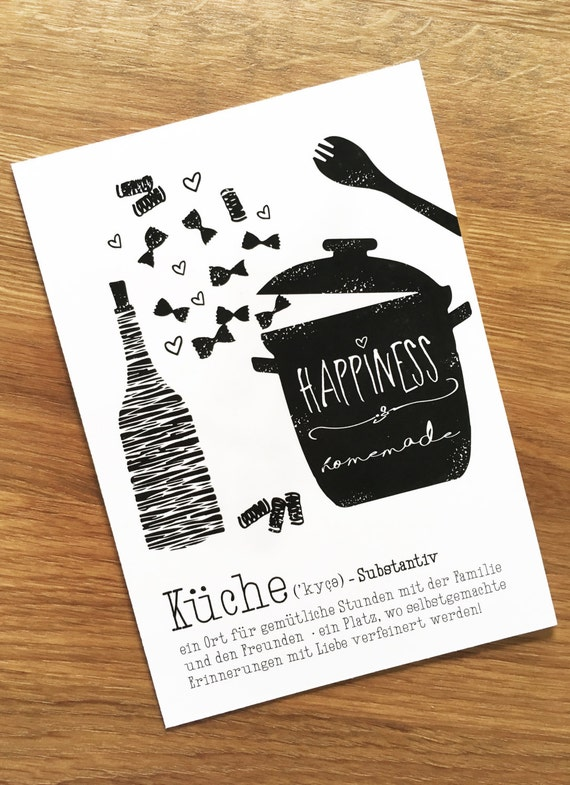 "Postcard, kitchen love""/ cooking, cuisine, passion, food, noodles, home, home"