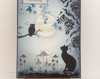 Fantasy card/ Fairy/handmade/Any occasion/ Birthday card/Friendship/Love/Just for you/seasons