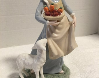 Mary and her Little Lamb