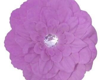 Romantic Peony Flower Hair Clip In Lavender