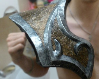 LARP Pauldrons\Shoulder. Armour of Dragon Knight - pair