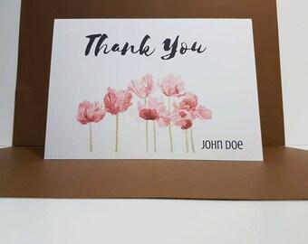 Thank You Card, Appreciation Card, Thank You Gift, Thank You, Thank You Cards, Appreciation, Greeting Cards