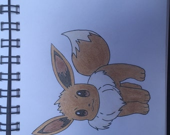 Eevee Drawing Pokemon