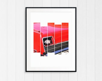 Classic Car, Man Cave gift, gift for men and boys, Vintage Car, instant printable digital download modern minimalist, art and collectibles