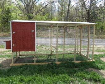 Chicken Coop 6x12x6h
