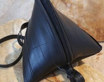 Triangle purse, pyramid bag (tube)
