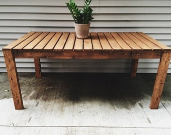 Outdoor Table, Dining Table, Kitchen Table, Patio Furniture, Picnic Table, Wood