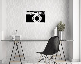 Vintage Camera (2) Wall Decal | Vinyl Wall Decal | Wall Decal |