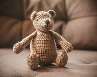 The amigurumi bear