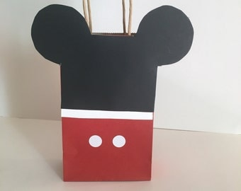 Mickey Mouse Goodie Bags 12 pk