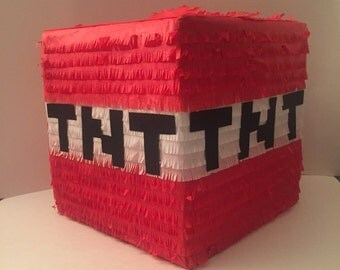 Minecraft TNT Pinata