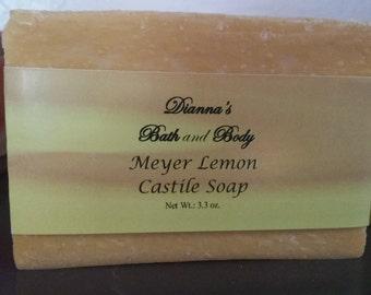 Meyer Lemon Castile Soap