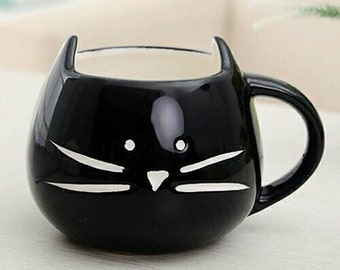 Cat ceramic mug