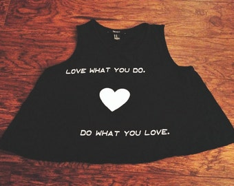 Do What You Love Crop Top Forever 21