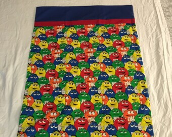 MM print pillowcase