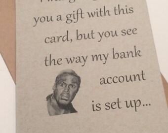 Kevin Hard Greeting Card
