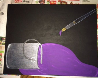 Spill on Purple Dream