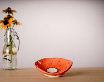 Quirky Coral Bowl