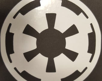 Star Wars Imperial Vinyl Decal