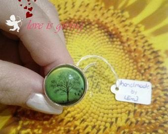 """Ring """"grüner Baum"""""""