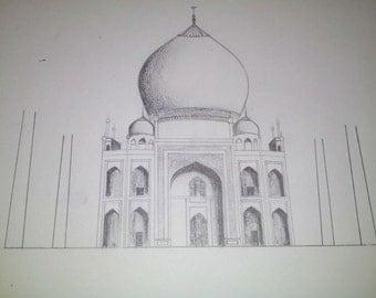 Unfinished Taj Mahal