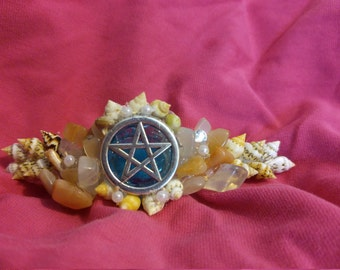 Goddess of the Sea hair clip
