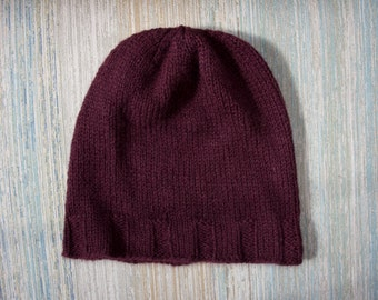 Mulberry Hat in Eco-Friendly Merino Wool– Made in USA