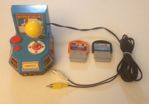 namco ms pacman plug and play instructions